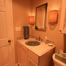 Traditional Bathroom by Andrea's Kitchens Plus Interior Design