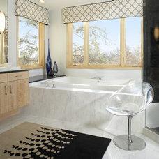 Contemporary Bathroom by Martha O'Hara Interiors