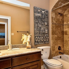 Traditional Bathroom by Hennessee Homes