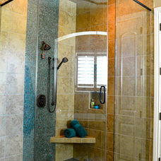 Contemporary Bathroom by Anthony Company Builders LLC