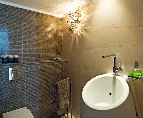 Contemporary Bathroom by Yaniv Schwartz - Photographer