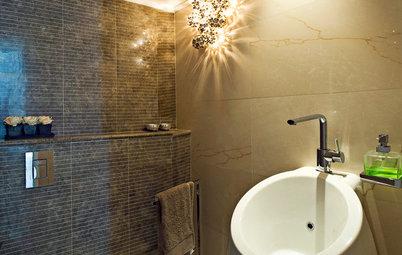 16 Bathroom Light Fixtures That Radiate Style