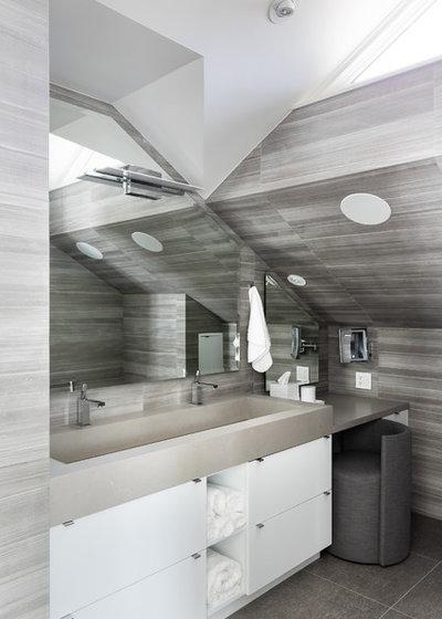 Contemporary Bathroom by Matter Planning + Design LLC