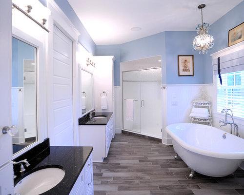 klassische badezimmer mit l wenfu badewanne design ideen. Black Bedroom Furniture Sets. Home Design Ideas