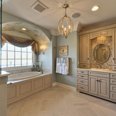 bathroom by Echelon Custom Homes