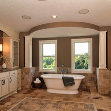 Traditional Bathroom by ALPINE CABINETRY LLC