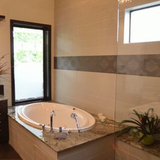 Contemporary Bathroom by Solution 4 Living