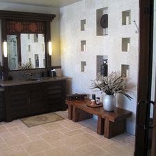 Contemporary Bathroom Oxnard Marina Residence