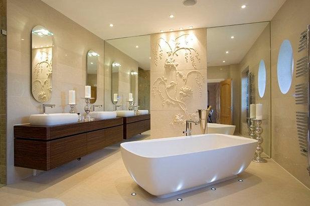 Contemporary Bathroom by DESIGNER TOUCHES LTD