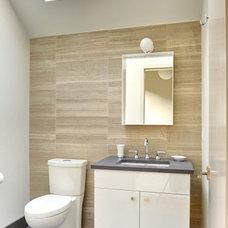 Contemporary Bathroom by Yankee Barn Homes