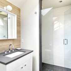 Contemporary Bathroom by Yankee Barn Homes