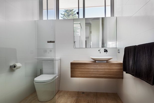 the places people forget to install power points modern bath vanity vessel sink bathroom design ideas
