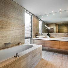 Contemporary Bathroom by Liz Prater Design Home