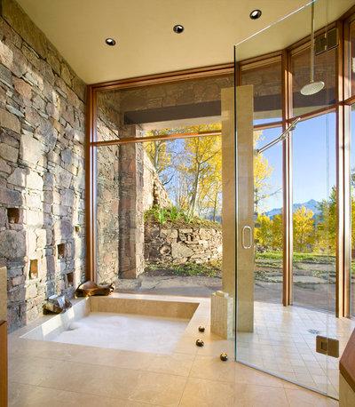 Contemporáneo Cuarto de baño by RKD Architects, Inc