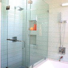 Contemporary Bathroom by Bricolage