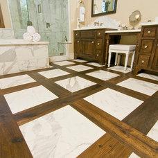 Beach Style Bathroom by DuChateau Floors