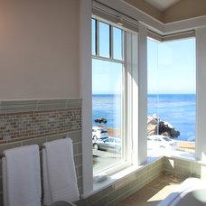 Beach Style Bathroom by Lauren Hannig