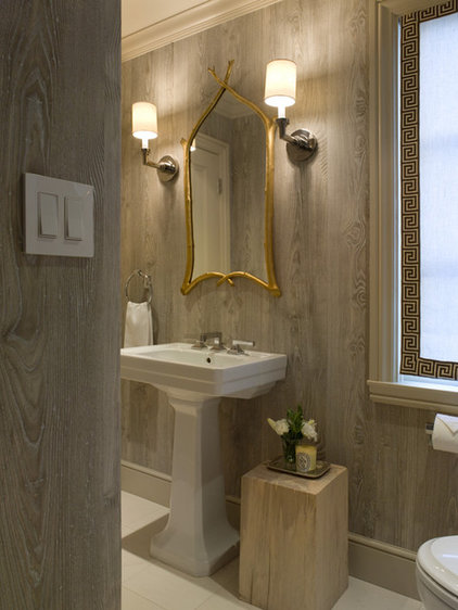 Traditional Bathroom by Benjamin Dhong Interiors