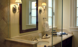 Pacific Heights Home Powder Room