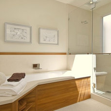 Contemporary Bathroom by EAG Studio