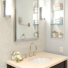 Traditional Bathroom by Jennifer Kesteloot