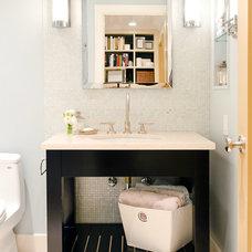 Contemporary Bathroom by Jennifer Kesteloot