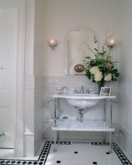 Traditional Bathroom by Audrey Brandt Interiors