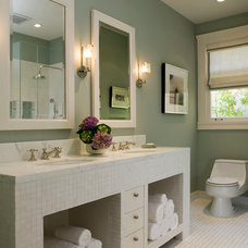 Contemporary Bathroom by Melanie Coddington