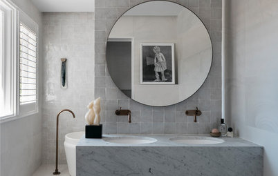 10 Top Materials for Bathroom Tiles