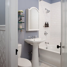 Traditional Bathroom by SVK Interior Design
