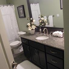 Modern Bathroom by L.EvansDesignGroup,inc
