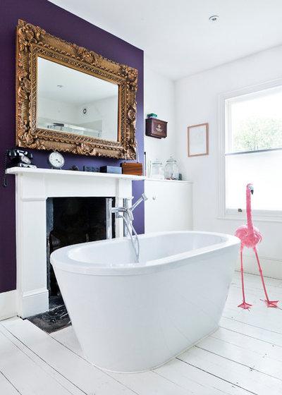 Eclectic Bathroom by elliotwalsh.co.uk