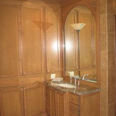Traditional Bathroom by Toni Sabatino