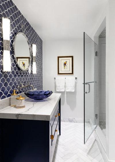 Contemporary Bathroom by Anne Rae Design