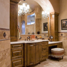 Mediterranean Bathroom by Kaizen Development  DBA KCG Services