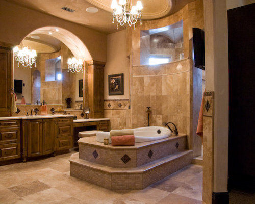 24 Mediterranean Bathroom Ideas: Arch Over Vanity Ideas, Pictures, Remodel And Decor