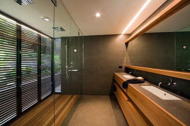 Trendy Badeværelse by justin long design