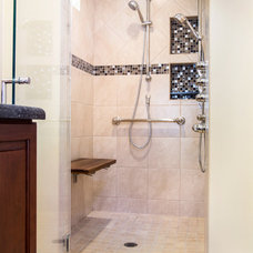 Traditional Bathroom by Four Walls Design and Construction, Inc.