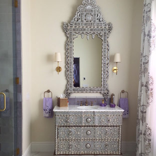 75 Mediterranean Bathroom Design Ideas Stylish