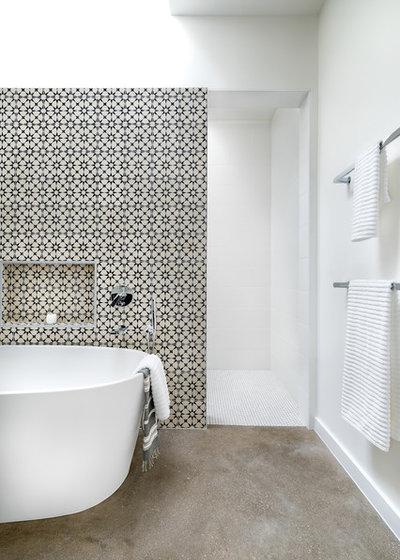 Trendy Badeværelse by Clark   Richardson Architects