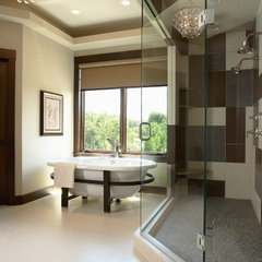contemporary bathroom by Martha O'Hara Interiors