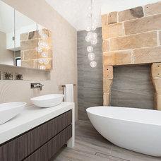 Contemporary Bathroom by Design4space