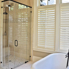 Traditional Bathroom by Court Atkins Architects