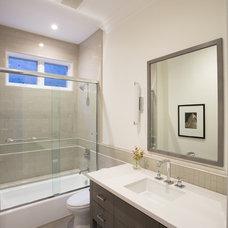 Transitional Bathroom by Fiorella Design