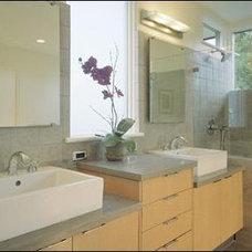 Modern Bathroom Palo Alto Architects - David Solnick Melville Ave