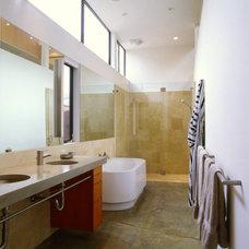 Contemporary Bathroom by Drew Maran Construction