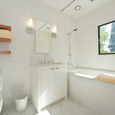 Modern Bathroom by Mueller Nicholls Cabinets and Construction