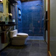 Midcentury Bathroom by Keycon, Inc
