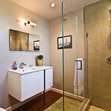 Contemporary Bathroom by Lucile Glessner Design