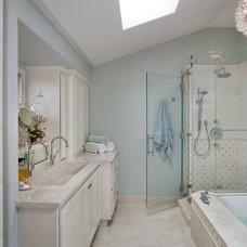 Traditional Bathroom by Nancy Van Natta Associates